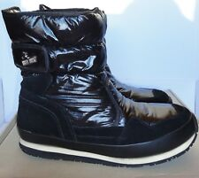 RUBBER DUCK Snow Jogger Boots Black