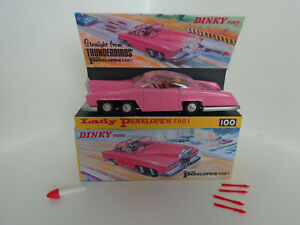 Dinky Toys 100 Gerry Anderson Thunderbirds Lady Penelope's FAB 1 Rolls Royce