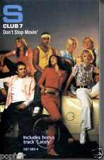 S CLUB 7 - DON'T STOP MOVIN' / LATELY 2001 CASSINGLE RACHEL STEVENS HANNAH SPEAR