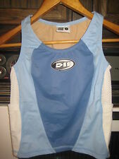 DeSoto Triathlon SleeveLess Running Cycling Jersey (Women's Small) Blue