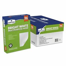 "Copy Printer Paper Multipurpose White 8.5""x11"" - Case 8 Reams 4000 Sheets Letter"