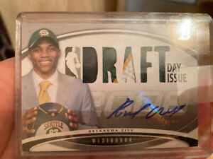 NBA Trading Card Rookie Topps Draft Day Issue 08-09 Russell Westbrook