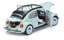 VW Beetle Panoramic sun roof, pale blue  1/18 Schuco