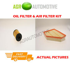 DIESEL SERVICE KIT OIL AIR FILTER FOR BMW 123D 2.0 204 BHP 2007-12