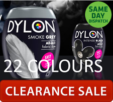 Dylon Machine Dye Fabric & Clothes Dye Black, Navy Blue, Grey 22 Colours