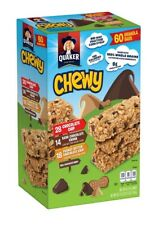 🔥 Quaker Chewy Granola Bars, Variety Pack, 58 + 2 = 60 Bars 🔥