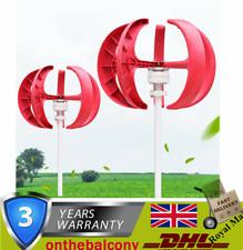 5 Blades Lantern Wind Turbine Generator Kit Charge Controller 600W 12/24V