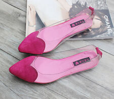 Womens Shoes Pumps Mixed Heart Korean Casual Slip On Loafers Flats Size Pop I690