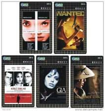 Angelina Jolie 5 telefoonkaarten/télécartes  (AJ111-5c)