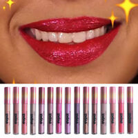 15Color Waterproof Diamond Glitter Matte Metal Liquid Lipstick Lip Gloss Makeup