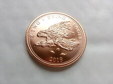 1 oz .999 Copper Zombucks Two Dying Eagle - 9th in series (Mintage: 59,343)
