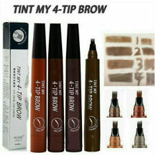 TINT MY 4-TIP BROW Liquid Eyebrow Pencil Waterproof Microblading Fork Tip Fine