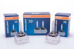 2x Original D1S Xenon Brenner 6000K, 8000K, 10000K Scheinwerferlampe Fernlicht