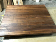 "John Boos Black Walnut 30"" x 25"" x 1.5"" Wood Edge Grain Counter // Cutting Board"