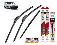 "Ford Fiesta 2017-on full set quality windscreen wiper blades 28""14""11"""