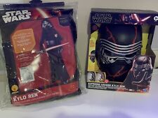 Kylo Ren Star Wars Rise Of Skywalker Supreme Mask & Force Awakens Costume - Kids