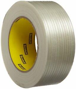 Scotch Filament Tape 897 Clear, 48 mm x 55 m (Pack of 1)