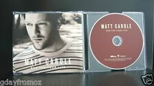Matt Cardle - Run For Your Life 3 Track CD Single