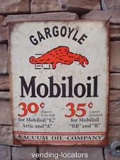 Mobil Gas Oil Pegasus Sign Service Station Advertising Horse Gargoyle Socony New