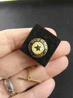 Vtg City of El Paso Texas 20 Year Anniversary Service pin pinback button *QQ3