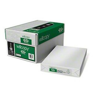 WILLCOPY EG 117001 CASE OF WHITE OFFICE PAPER 11X17 INCHES  (2500 SHEETS IN CASE