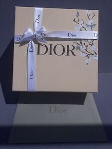 Chistian Dior Large Gift Box &Ribbon &Envelope 8.5x5.5x4 (Limited Mother's Day)