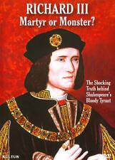 RICHARD III: MARTYR OR MONSTER? NEW DVD SEALED, REGION 1