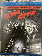Sin City (Blu-ray Disc, 2009, 2-Disc Set, Special Edition Recut And Extended)