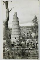 Mexico RPPC Aqueduct Los Remedios Postcard N20