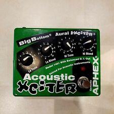 Aphex Acoustic Xciter Model 1401 Guitar Pedal