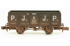 Dapol N Gauge 2F-038-020 20T Mineral Wagon - PJ & JP - weathered