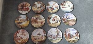 Royal Worcester Danbury Mint Thelwell Plates