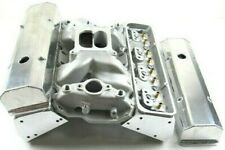 Small Block Chevy 350 383 Aluminum Bare Cylinder head Package w/ Intake