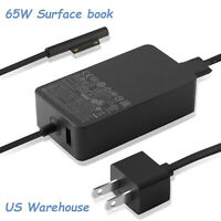 15V 4A 65W Charger Adapter For Microsoft Surface Pro Book 2 3 4 5 1800 1706 New