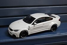 1:18 GT Spirit ZM066 BMW F82 M4 LB Performance (Liberty Walk) White. LB WORKS