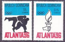 Dominican Republic 1224-25 MNH 1996 Summer Olympics Atlanta Georgia Set VF