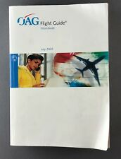 OAG FLIGHT GUIDE JULY 2002 TIMETABLE AIRWAYS AIRLINE TIMETABLE ABC - 1500+ PAGES