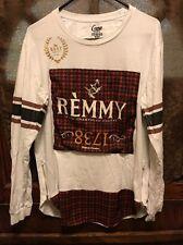 REMY FINE CHAMPAGNE COGNAC ~ Men's L ~ Long Sleeve PROMO T Shirt