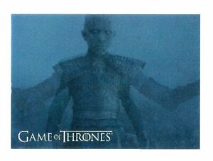 Game of Thrones Inflexions 3D Lenticular Card L10 The Night King Rises