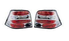 VW Golf Mk4 1998 - 2004 Chrome Clear Lens Rear Back Lexus Tail Lights - 1 Pair
