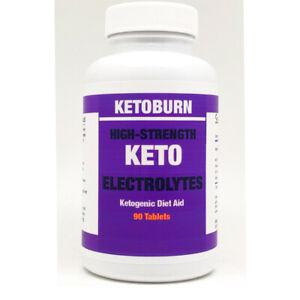 KETO Diet Electrolytes Tablets Sodium Potassium Magnesium Fasting FREE Shipping