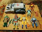 Vintage Thundercats Lot.  Most Figures with Original Weapons.  Overall Nice