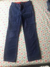 Mini Boden boys Blue Cords trousers Age 10