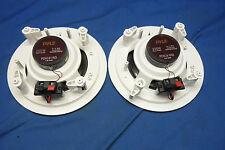 Pair of Pyle PDIC61RD In-Wall / In-Ceiling Dual 2-Way 6.5-Inch Speakers