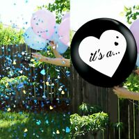 "36"" Gender Reveal Balloon Confetti Kit 'its a .."" Girl or Boy Baby Shower Party"