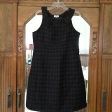 Merona Black Lined Womens Sheath Dress 14 NWT Cotton Blend