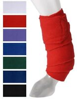 Tough 1 soft fleece white mini polo wraps horse tack equine 67-8012