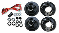 """Add Electric Brakes to trailer Complete kit 2000# Axle 4 Lug 4x4"""" 7"""" drum axel"""
