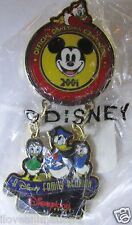 Disney Convention Donald Duck & Nephews Dangle Huey Dewey Louie Pin