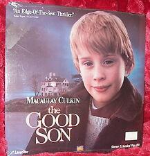 LD Laserdisc THE GOOD SON  Macaulay Culkin  Factory Sealed!